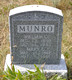 Munro, William C. (Mary C.) (Eight Mile)