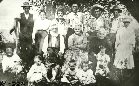 People, Family, Wolfley, Rudolph, Wife, Grandmother Turner, Others