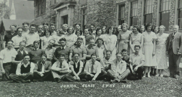 People, Group, Star Valley High School, Junior Class, 1934
