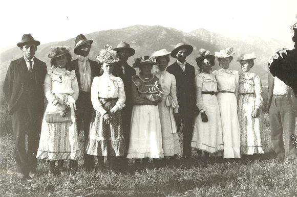 People, Group, Sunday Best, Unknown Individuals