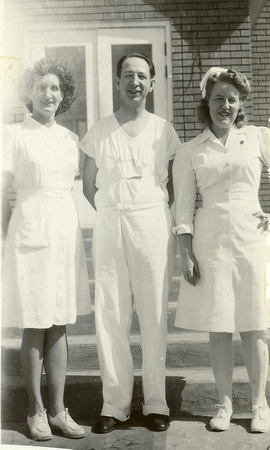 People, Group, Worthen, Samuel Dr. and nurses
