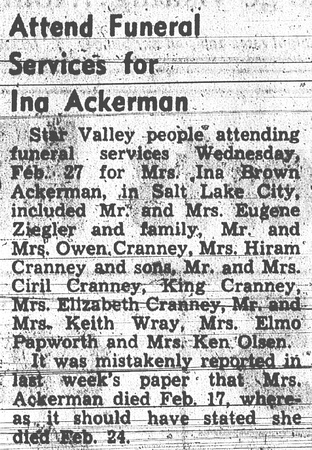 Ackerman, Ina Cranney Brown (i 7 Mar 1963) (2)
