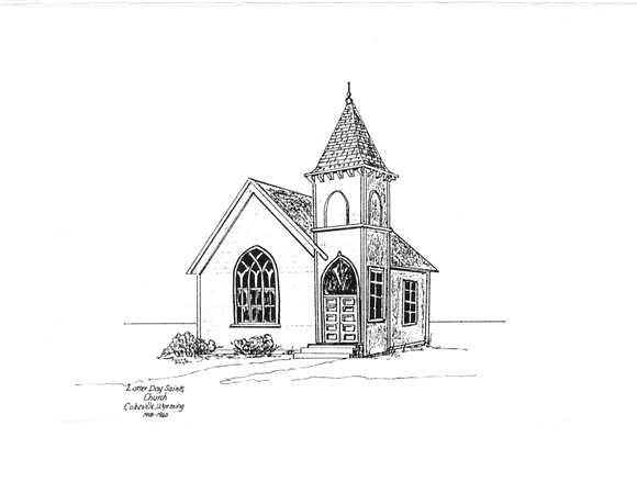 Lincoln County Historical Societies | Historical Building Drawings | LDS Church 1908.jpg