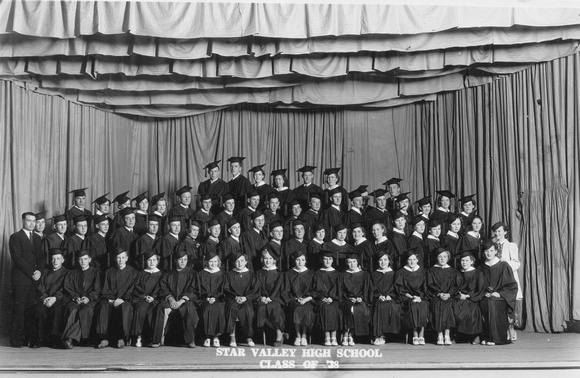 People, Group, Star Valley High School, Class of 1938