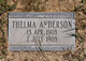 Anderson, Thelma (Chesterfield)
