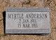 Anderson, Myrtle (Chesterfield)